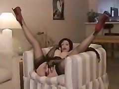 japanese masturbation with table