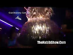 brande roderick dancing at night club