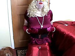 crossdress satin