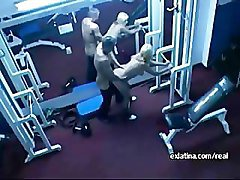 Latina Girlfriend Hidden Gym