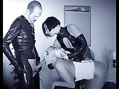 group orgy in latex
