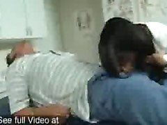 girl pussy amp oral exam by female guard in