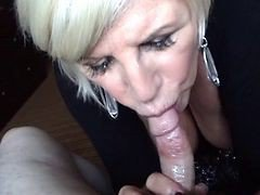 sperm and blowjob