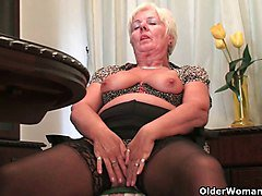 Granny British Panties Pantyhose Stockings