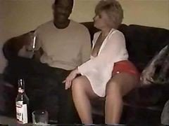 Black Wife Drunk Creampie