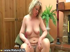 Blonde Housewife Wife Mature