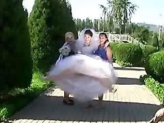 Upskirt Wedding