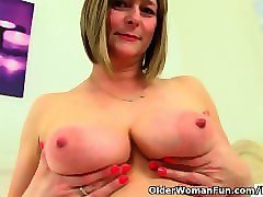 hot british mom boob son sucking and fuck pussy