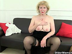 Granny British Stockings