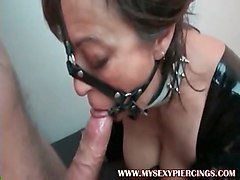 piercing blowjob
