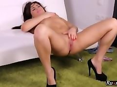 big cock pantyhose shemale solo