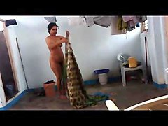 Hairy Indian Wife Shower
