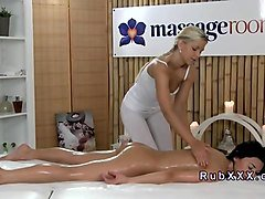 massage real lesbian seduction