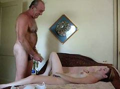 mature brunete in stocking riding dick