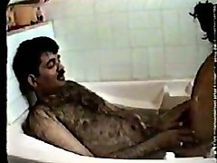 Bus Hairy Indian Bath Wife