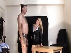 Office Humiliation Stockings