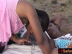 African Milf Outdoor
