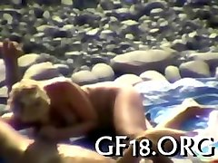 Bus Blonde Short Hair Beach