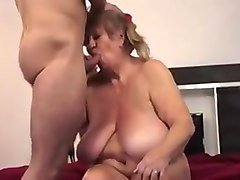 cougar with huge tits fucked