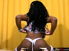 brazilian black whore getting fucked by white