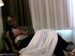 Hairy Black Blowjob Shemale
